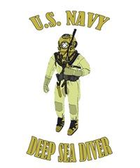U.S. Navy Deep Sea Diver