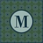 Cathedral Blue Monogram