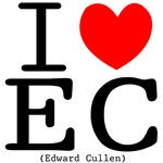 I (heart) Edward Cullen