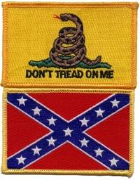 Don't Tread on Confederacy-2 Men's Clothing