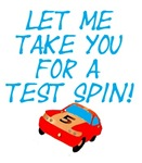 Let me take you for a test spin