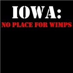 IOWA no place for wimps