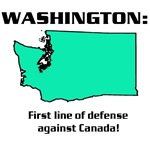 WASHINGTON first line of defense against Canada