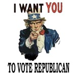 I want you to vote Republican