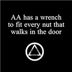 AA has a Wrench to Fit Every Nut Who Walks Through