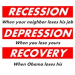 Recession Depression Recovery