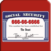 Social Security Number Of The Beast 666-66-6666