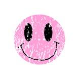 Vintage Pink Smiley 2