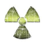 Vintage Radioactive Symbol 3