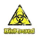 Vintage Bio-Hazard Sign 2