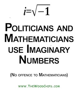 Politicians and Imaginary Numbers