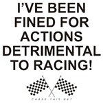 CHECKERED FLAG FINED FOR DETRIMENTAL ACTIONS