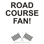 CHECKERED FLAG ROAD COURSE FAN