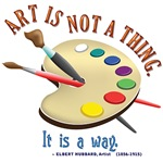 Art is not a thing