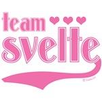 Team Svelte Pink Hearts