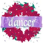 Dancer Wreath Christmas Cards
