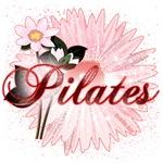 PInk Pilates Flowers by Svelte.biz