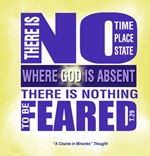 ACIM-There is Nothing to be Feared