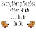 Dog hair = Love