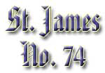 St. James Lodge #74