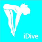 Swimming and Diving iDive Silhouette