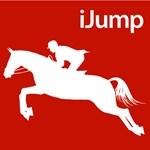 Horseback Riding iJump Silhouette for Equestrians