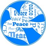 Blue Dove Of Peace