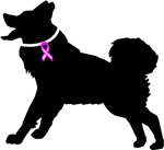 Alaskan Malamute Breast Cancer Support