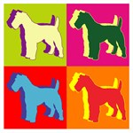 Fox Terrier Silhouette Pop Art