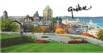 Old Quebec Pano with Signature