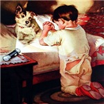 Children in Vintage Art