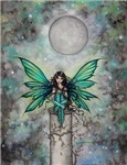 Little Green Fae Fairy Fantasy Art