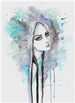 Gothic Ghost Girl Fantasy Art
