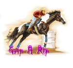 Grip & Rip, Barrel racer