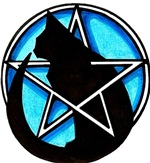 Black Cat Pentacle