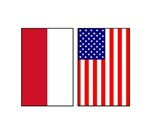 Indonesian & US Flags