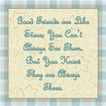 Friends are like Stars