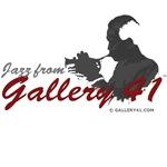 Jazz from Gallery 41 Logo Various Merchandise