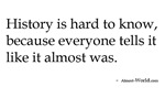 almost-history