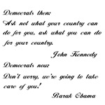 From Kennedy to Obama!