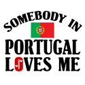 Somebody In Portugal T-shirt