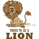 Proud To Be A Lion T-shirts