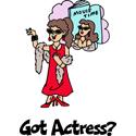 Actress T-shirt, Actress T-shirts