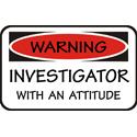 Investigator T-shirt, Investigator T-shirts