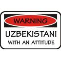 Attitude Uzbekistani