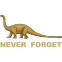 Dinosaur Never Forget