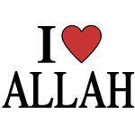 I Love Allah Merchandise