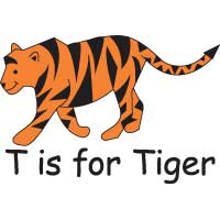 T is for Tiger
