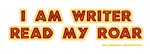 I am writer: Read My Roar