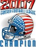 2007 FFL Champion Helmet